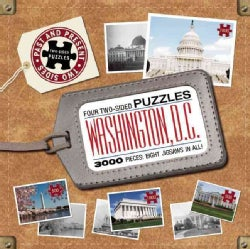 Washington D.C.: Four Two-sided Puzzles (General merchandise)