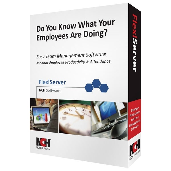 NCH Software Flexi Server - Complete Product - 1 Staff