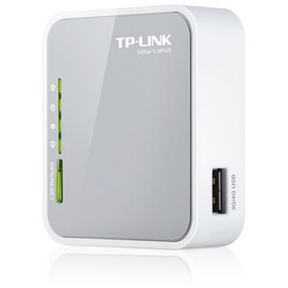 TP-LINK TL-MR3020 3G/4G Wireless N150 Portable Router, AP/WISP/Router