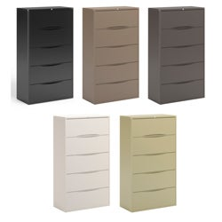 Mayline CSII Freestanding Wide 5-drawer Lateral File