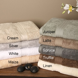 Signature Luxury Egyptian Cotton 6-piece Bath Towel Set