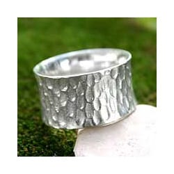 Sterling Silver Men's 'The Original' Ring (Indonesia)