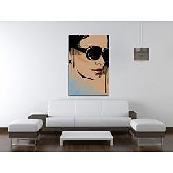 Maxwell Dickson 'Michelle' Canvas Wall Art