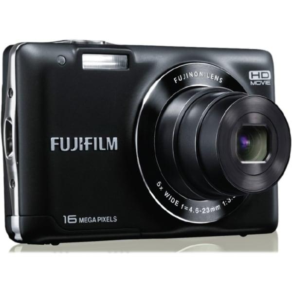 Fujifilm FinePix JX580 16 Megapixel Compact Camera - Black