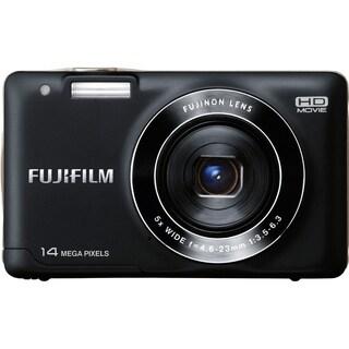 Fujifilm FinePix JX500 14 Megapixel Compact Camera - Black