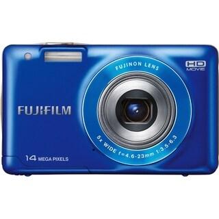 Fujifilm FinePix JX500 14 Megapixel Compact Camera - Blue