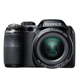 Fujifilm FinePix S4200 14MP Black Digital Camera