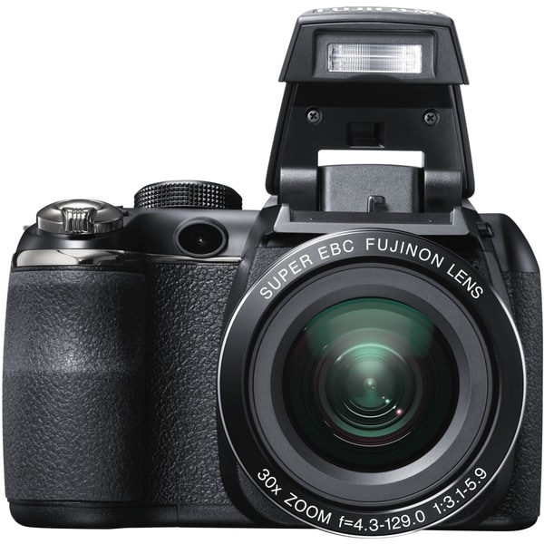 Fujifilm FinePix S4500 14 Megapixel Bridge Camera - Black