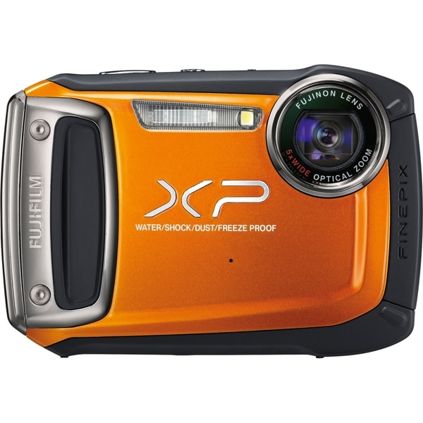 Fujifilm FinePix XP100 14.4 Megapixel Compact Camera - Orange