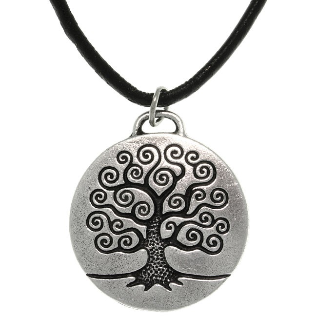 Carolina glamour collection antiqued pewter 39 tree of life for L love jewelry reviews