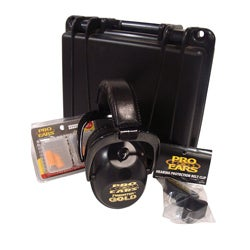 High-quality Pro Ears Gold Three-piece Padded Hearing Protection Pack