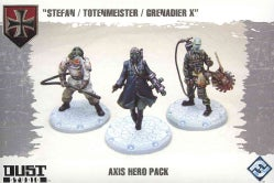 Dust Tactics: Axis Hero Pack: Stefan/Totenmeister/grenadier X (Game)