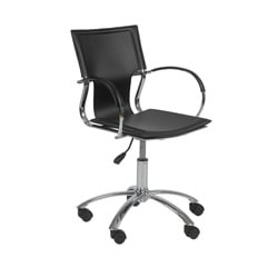 Vinnie Black/Chrome Office Chair