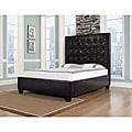 Malibu-X Queen-size Chocolate Leather Bed