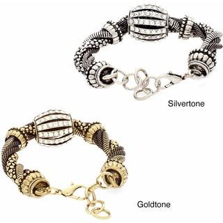 NEXTE Jewelry Rhinestone Twisting Mesh Fashion Bracelet