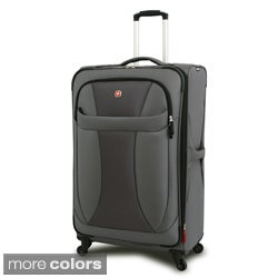 Wenger Black 29-inch Lightweight Spinner Upright
