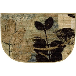 Gale Beige Slice Accent Rug (1'8 x 2'6)