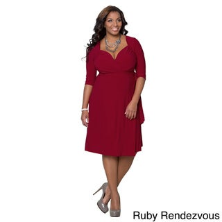 Kiyonna Women's Sweetheart Plus-size Cocktail Dress
