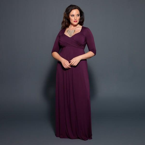 Kiyonna Women's 'Veronica' Maxi Dress