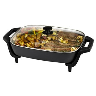 Oster 12 x 16-inch Black Electric Skillet