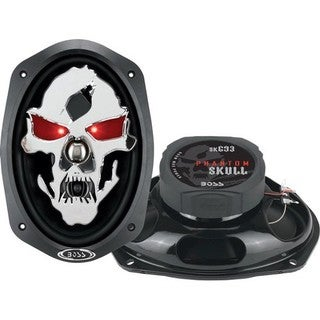 Boss PHANTOM SKULL SK693 Speaker - 600 W PMPO - 3-way
