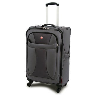 Wenger Grey Neolite 20-inch Lightweight Carry On Spinner Upright Suitcase