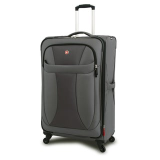 Wenger Grey Neolite 29-inch Lightweight Spinner Upright Suitcase