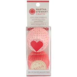 Martha Stewart 'Hearts and Love' Mini Cupcake Wraps (Package of 96)