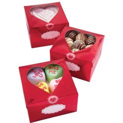 Wilton Metallic 'Valentine' Treat Box (Pack of 3)