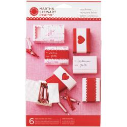 Martha Stewart Crafts Valentine Treat Matchboxes (Kit of 6)