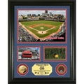 Highland Mint Chicago Cubs Wrigley Field 'Showcase' Infield Dirt and Coin Photo Mint