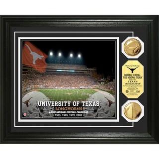 Highland Mint Texas Longhorns Darrell K Royal Texas Memorial Stadium Coin Photo Mint