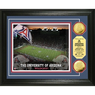 Highland Mint University of Arizona Stadium 24-Karat Gold Photo Mint