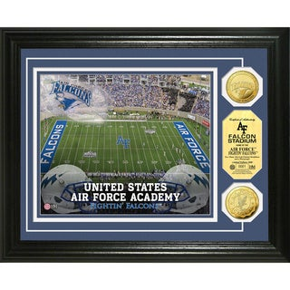 Highland Mint United States Air Force Academy Falcon Stadium 24-Karat Gold Coin Photomint