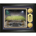 Highland Mint University of Notre Dame Stadium 24-karat Gold Coin Photo Mint