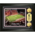 Highland Mint Virginia Tech Lane Stadium 24k Gold Coin Photo Mint