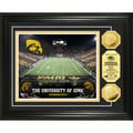 Highland Mint University of Iowa Kinnick Stadium 24k Gold Coin Photo Mint