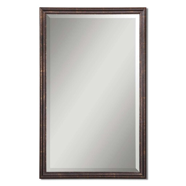 Uttermost Renzo Vanity Wood Framed Mirror