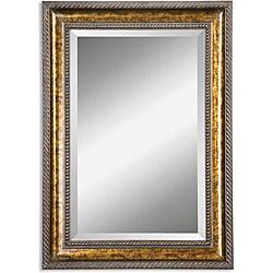 Sinatra Vanity Wood Framed Mirror