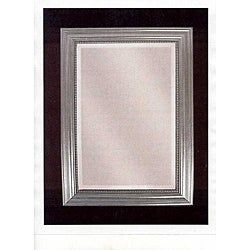 Stuart Silver Wood Framed Mirror