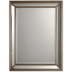 Jansen Antique Silver Framed Mirror