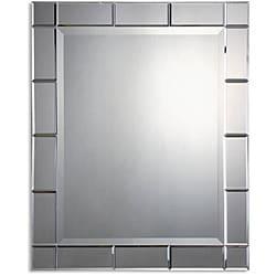 Uttermost Makura Beveled Mirror-Framed Mirror