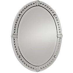 Graziano Oval Beveled Mirror