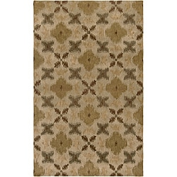 Hand-tufted Averlo Beige Area Rug (8' x 10')