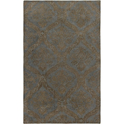 Hand-tufted Averlo Light Grey Area Rug (5' x 8')