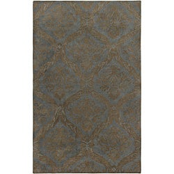 Hand-tufted Averlo Light Grey Area Rug (8' x 10')