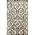 Hand-tufted Averlo Gray Rug (5' x 8')