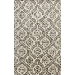 Hand-tufted Averlo Gray Rug (8' x 10')