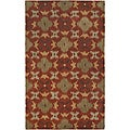 Hand-tufted Averlo Rust Rug (8' x 10')