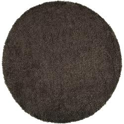 Hand Tufted Gray Wool 'Martenot' Rug (10' Round)